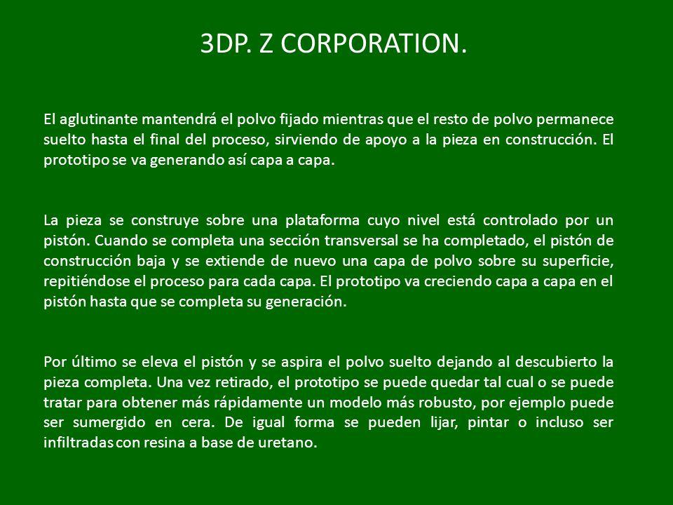 3DP. Z CORPORATION.