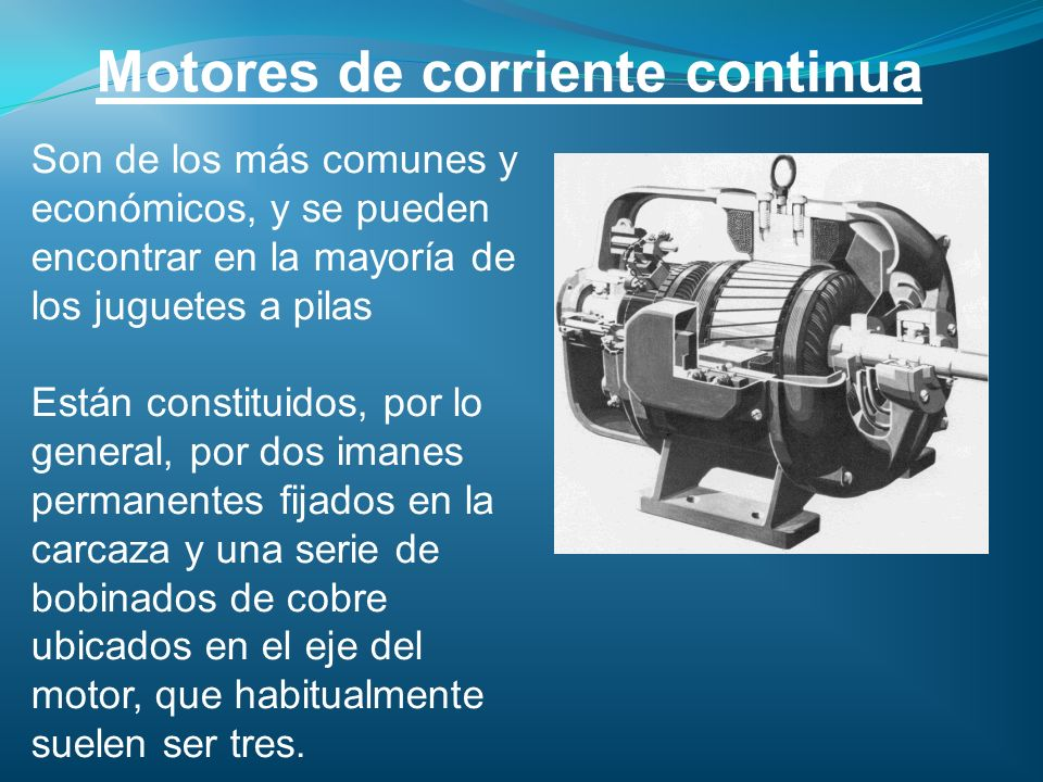 Motores de corriente continua