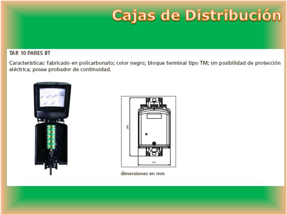 Cajas de Distribución
