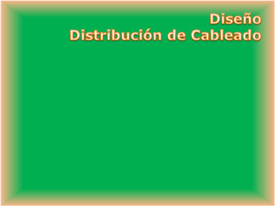 Diseño Distribución de Cableado