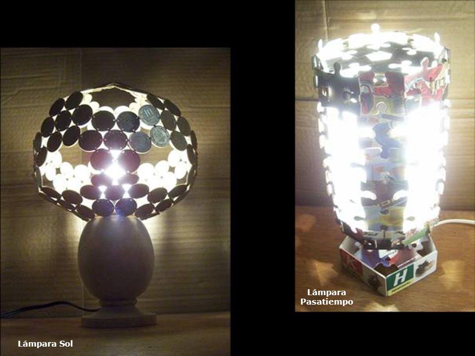 Lámpara Pasatiempo Lámpara Sol