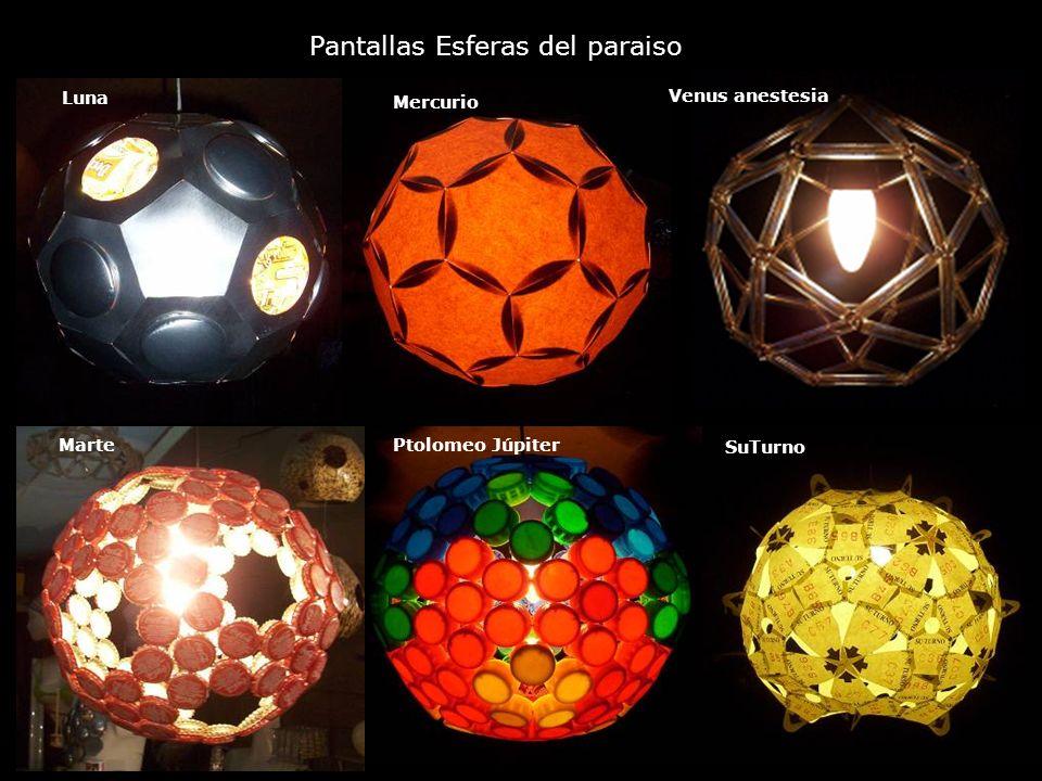 Pantallas Esferas del paraiso