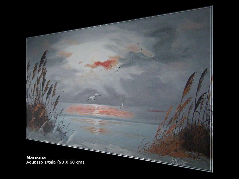 Marisma Aguasso s/tela (90 X 60 cm)