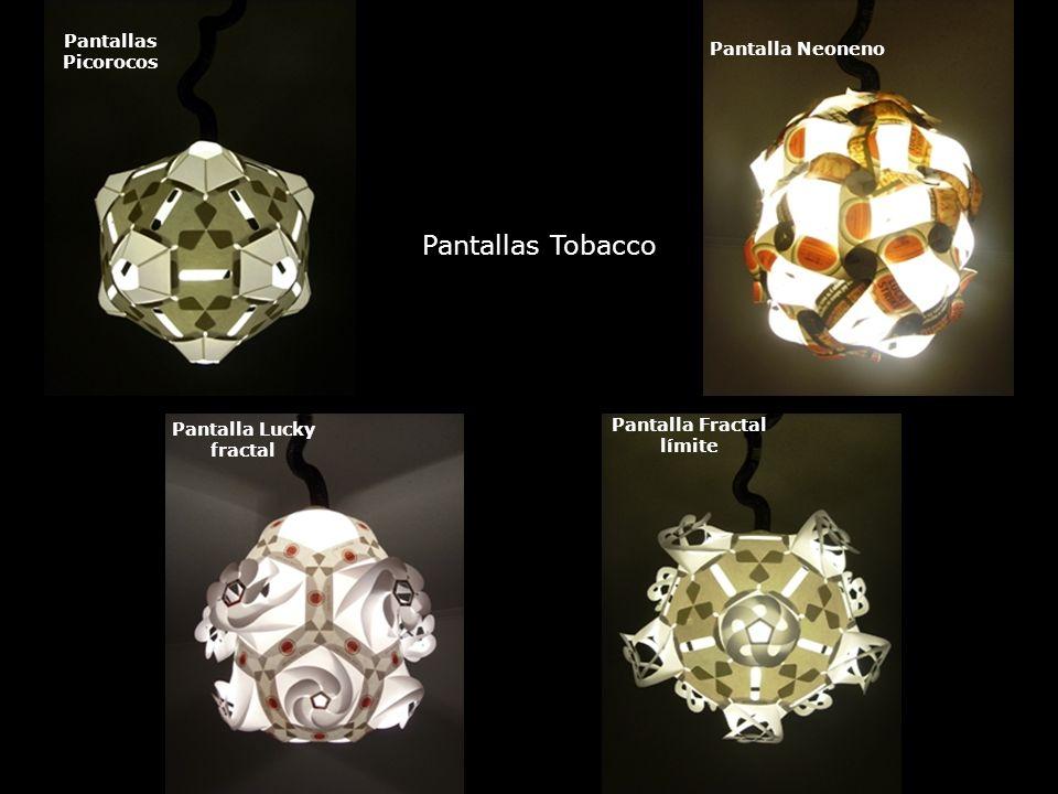 Pantalla Lucky fractal