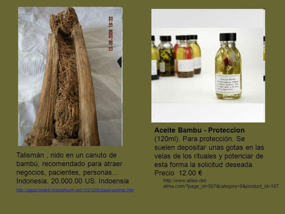 Aceite Bambu - Proteccion