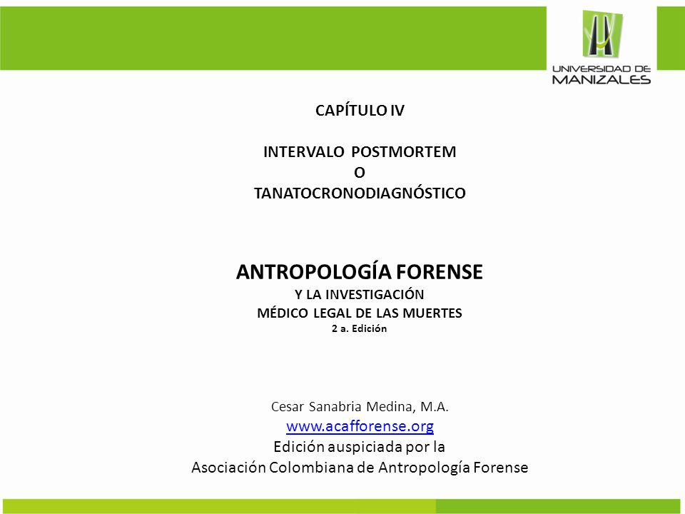 MÉDICO LEGAL DE LAS MUERTES