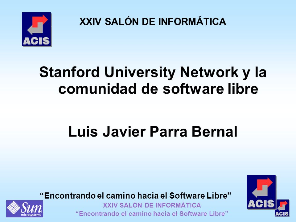 Stanford University Network y la comunidad de software libre
