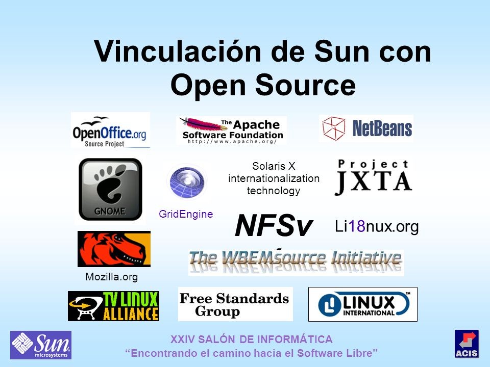 Vinculación de Sun con Open Source