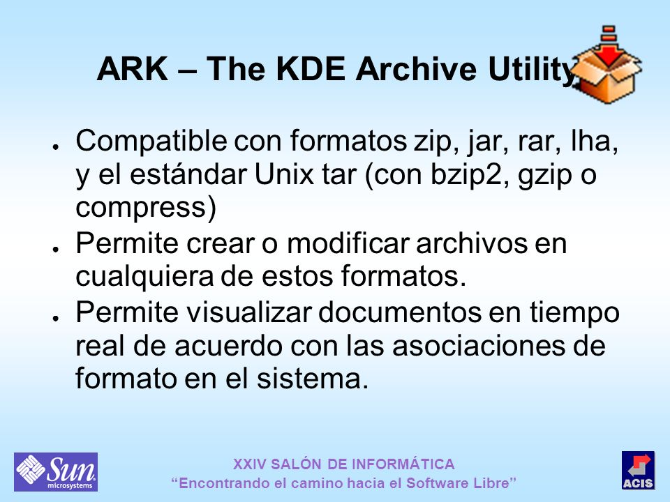 ARK – The KDE Archive Utility