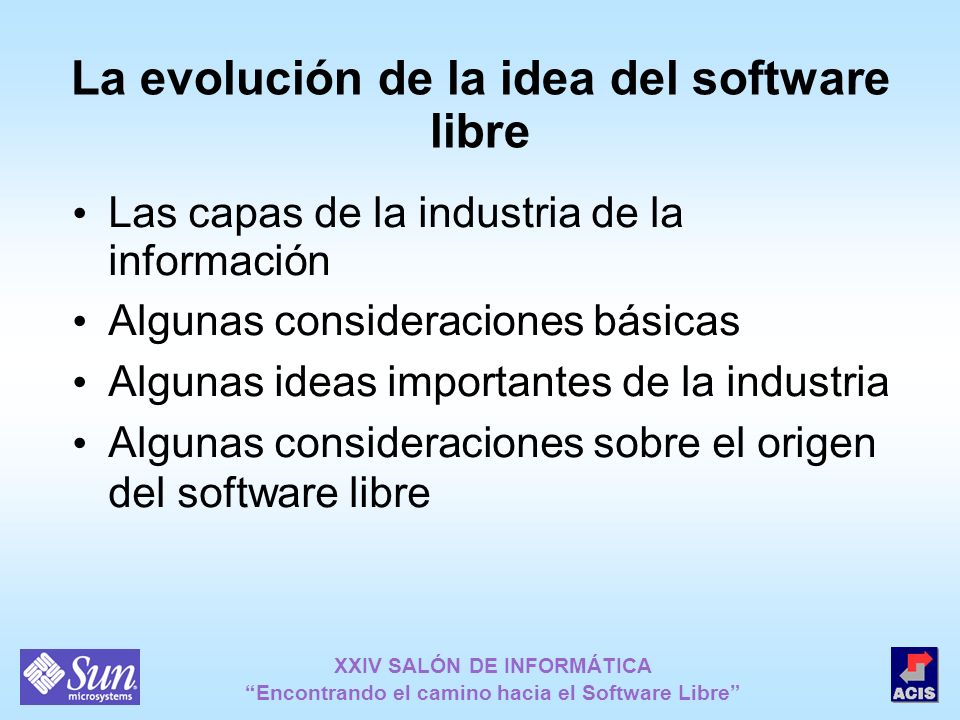 La evolución de la idea del software libre