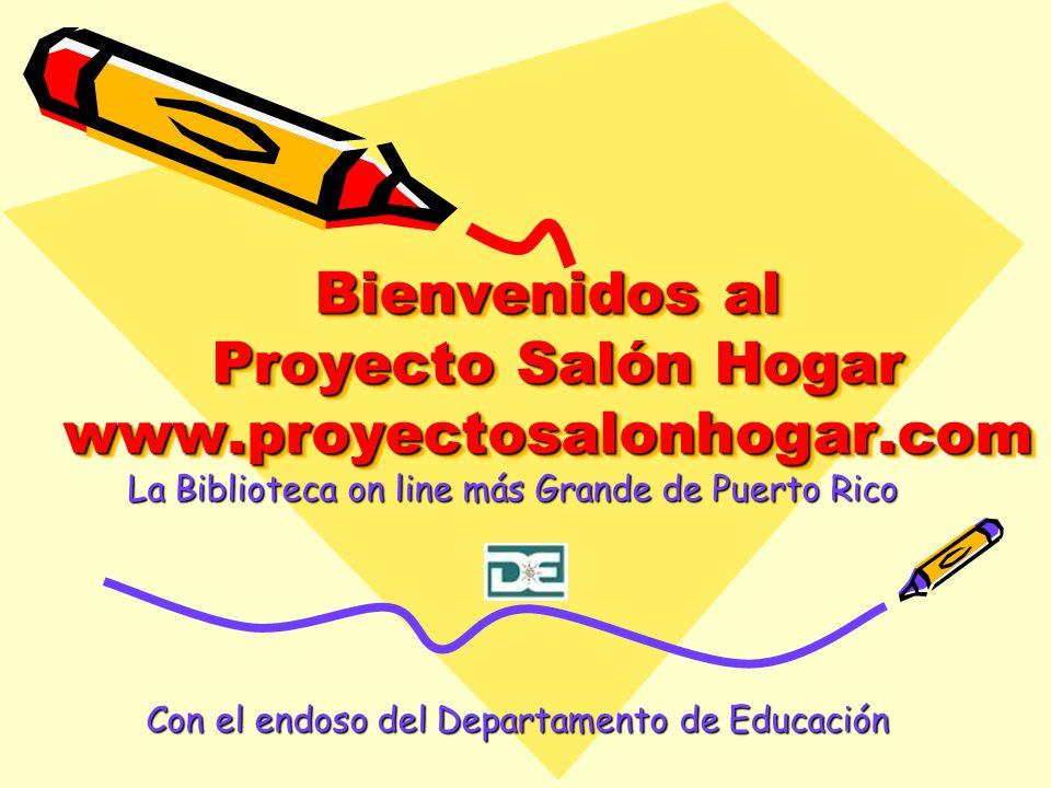Bienvenidos al Proyecto Salón Hogar www.proyectosalonhogar.com