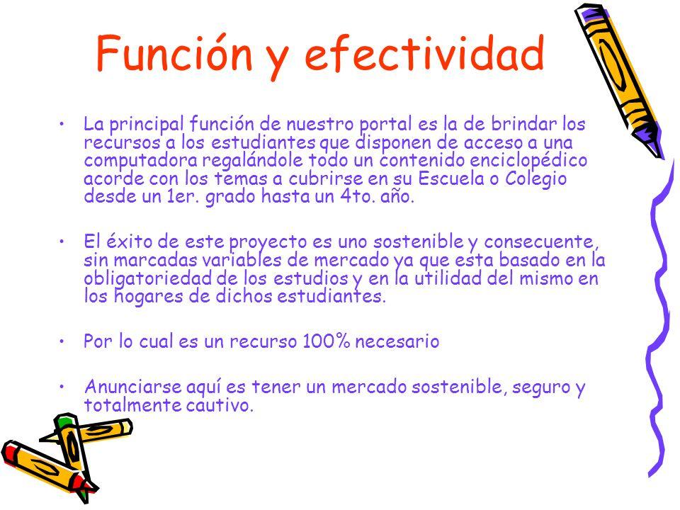 Función y efectividad
