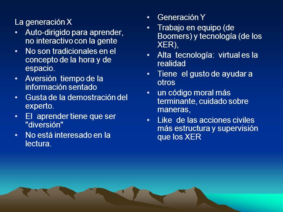 Generación Y Trabajo en equipo (de Boomers) y tecnología (de los XER), Alta tecnología: virtual es la realidad.