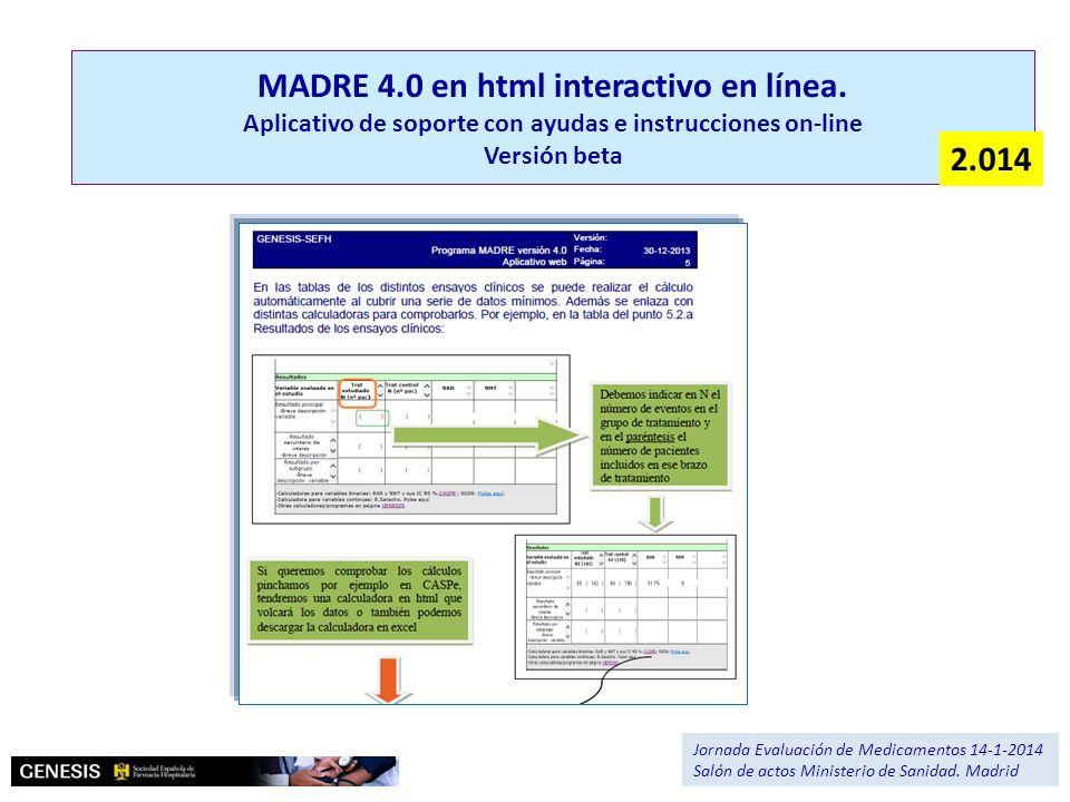 MADRE 4. 0 en html interactivo en línea