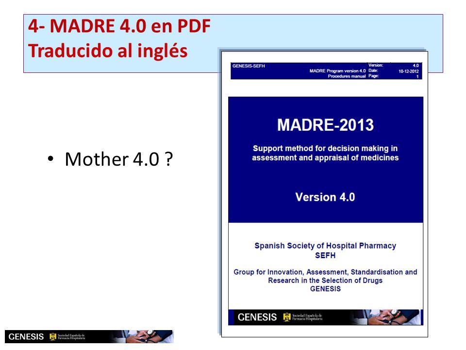 4- MADRE 4.0 en PDF Traducido al inglés