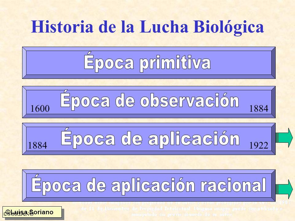 Historia de la Lucha Biológica