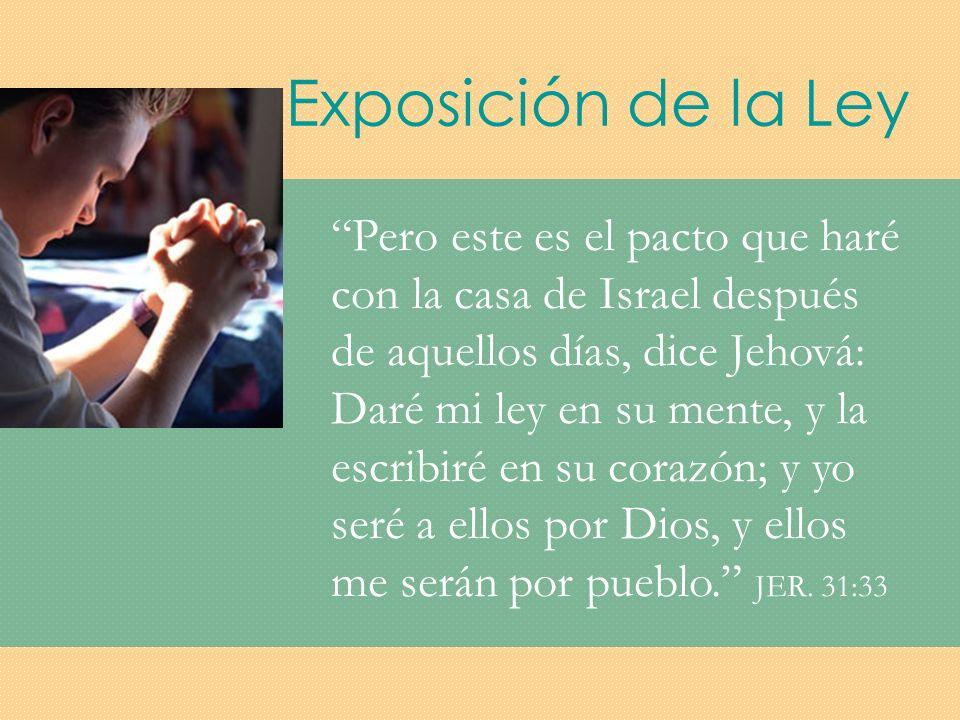 Exposición de la Ley