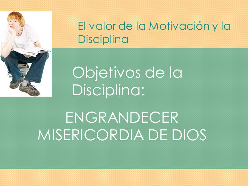 ENGRANDECER MISERICORDIA DE DIOS