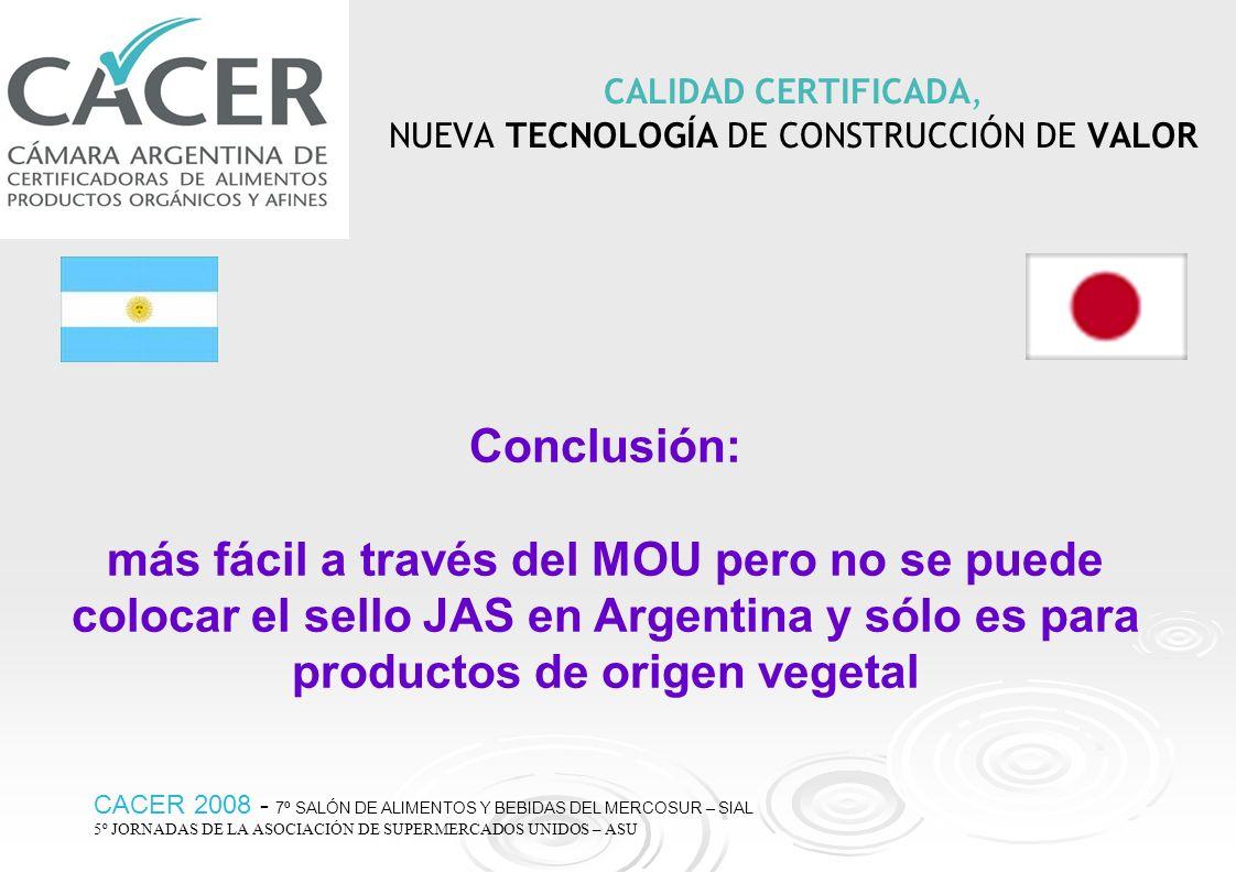 CALIDAD CERTIFICADA, NUEVA TECNOLOGÍA DE CONSTRUCCIÓN DE VALOR