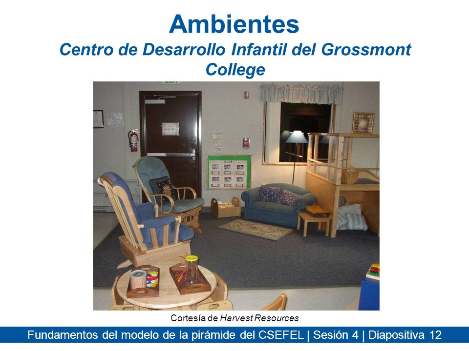 Ambientes Centro de Desarrollo Infantil del Grossmont College