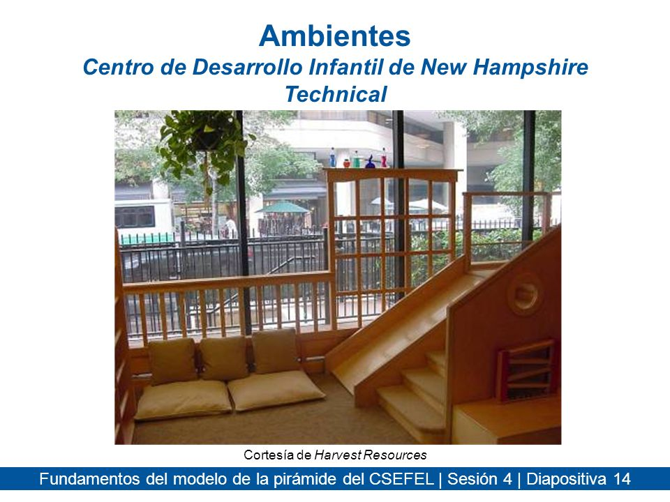 Ambientes Centro de Desarrollo Infantil de New Hampshire Technical
