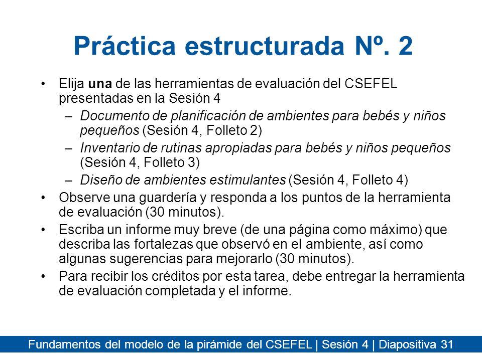 Práctica estructurada Nº. 2