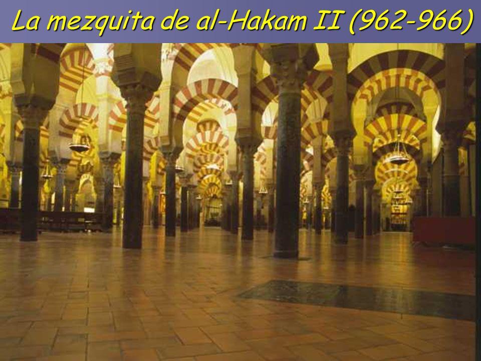 La mezquita de al-Hakam II (962-966)
