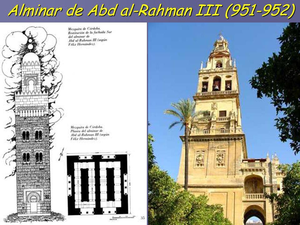 Alminar de Abd al-Rahman III (951-952)