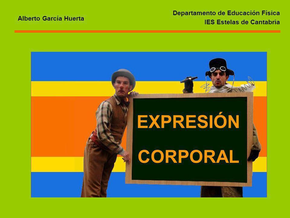 EXPRESIÓN CORPORAL Departamento de Educación Física