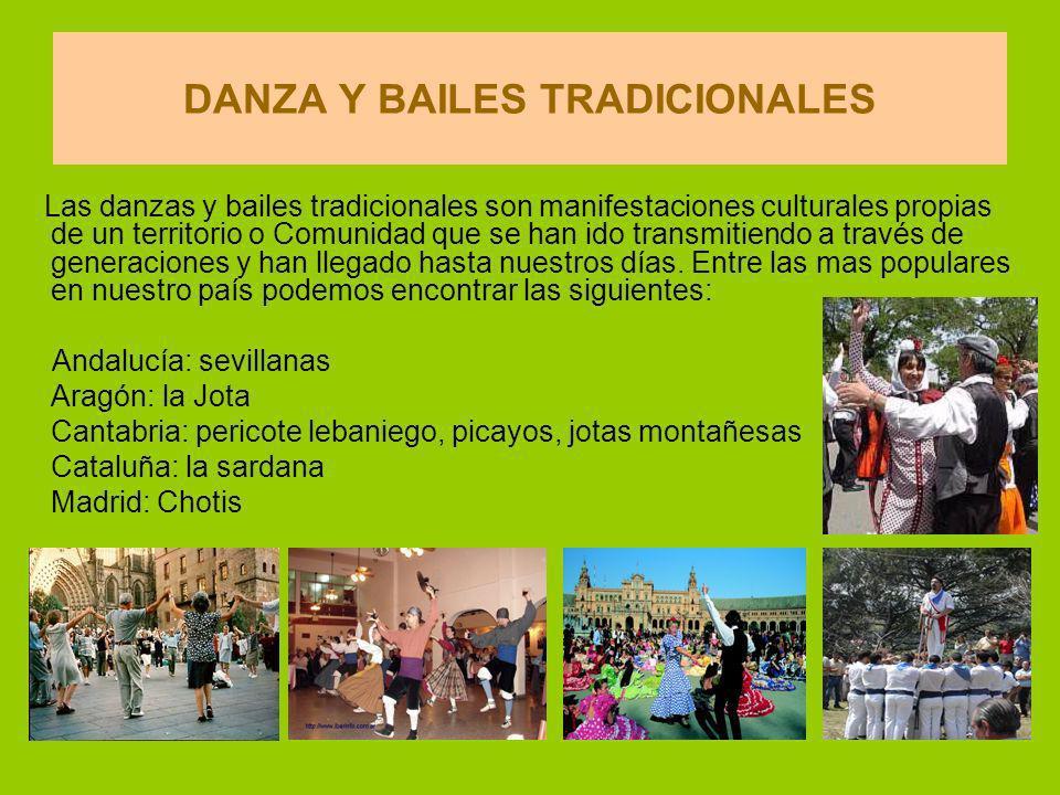 DANZA Y BAILES TRADICIONALES
