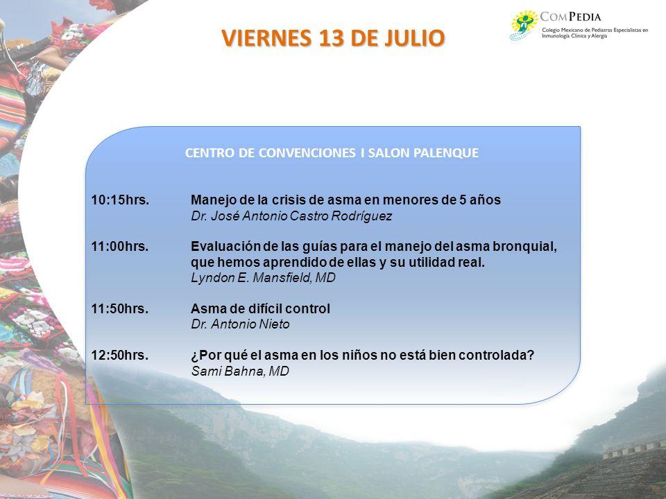 CENTRO DE CONVENCIONES I SALON PALENQUE