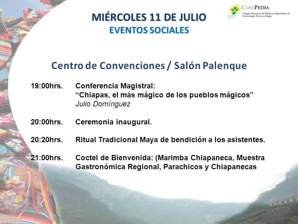 Centro de Convenciones / Salón Palenque