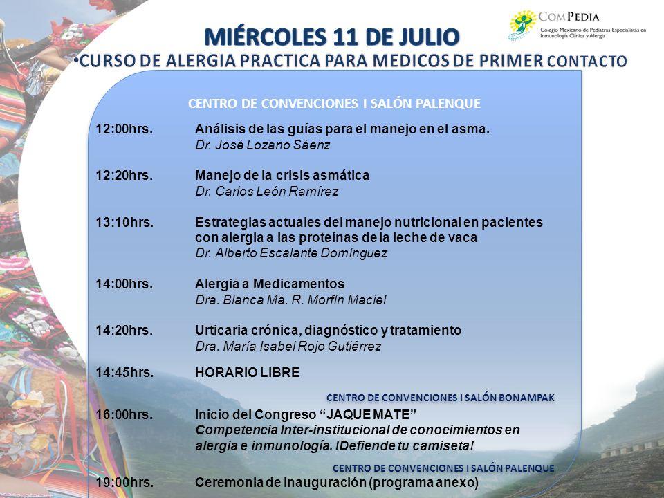 CENTRO DE CONVENCIONES I SALÓN PALENQUE