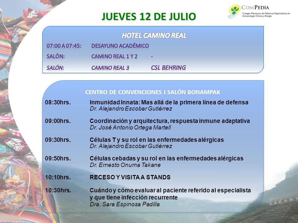 CENTRO DE CONVENCIONES I SALÓN BONAMPAK