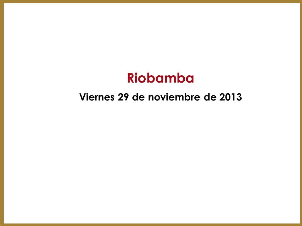 Viernes 29 de noviembre de 2013