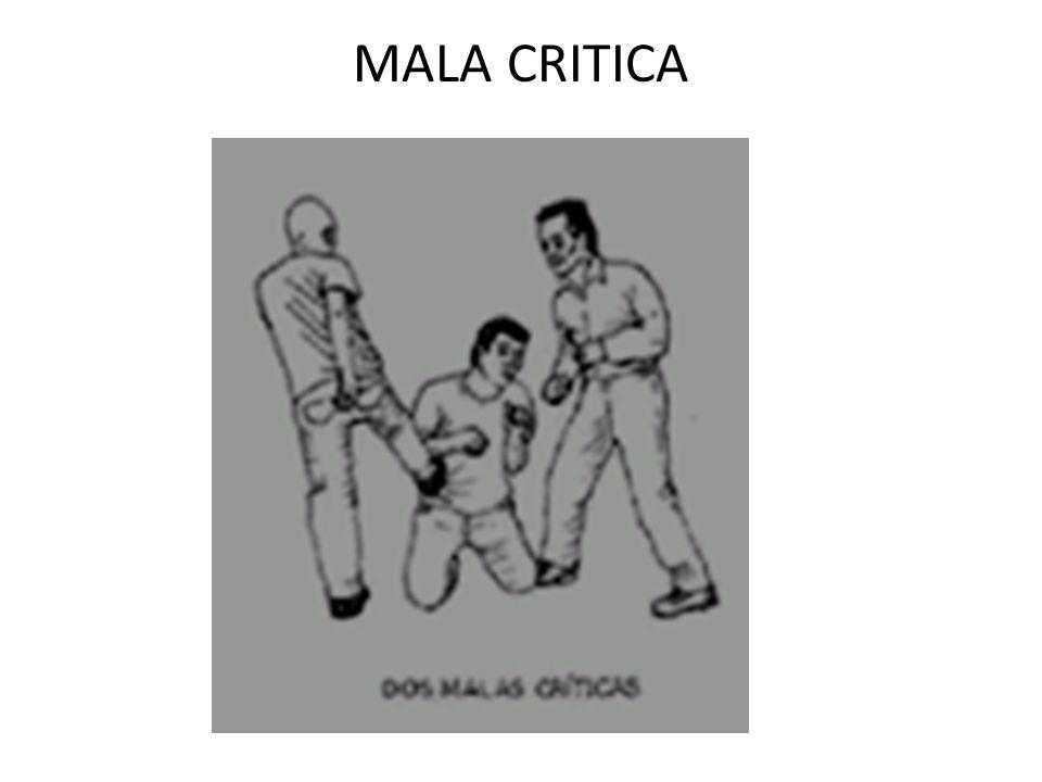 MALA CRITICA
