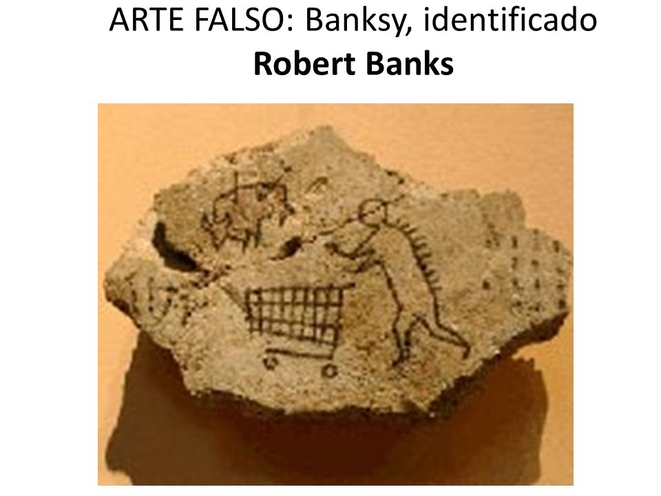 ARTE FALSO: Banksy, identificado Robert Banks