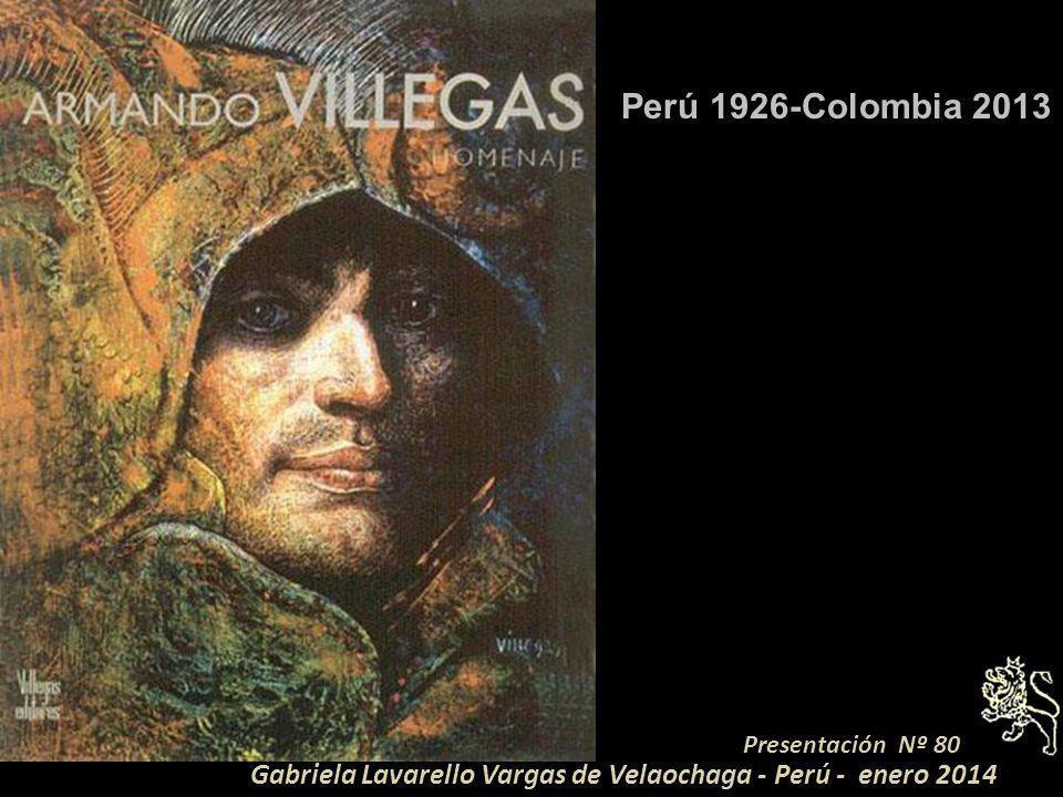Perú 1926-Colombia 2013 Presentación Nº 80.