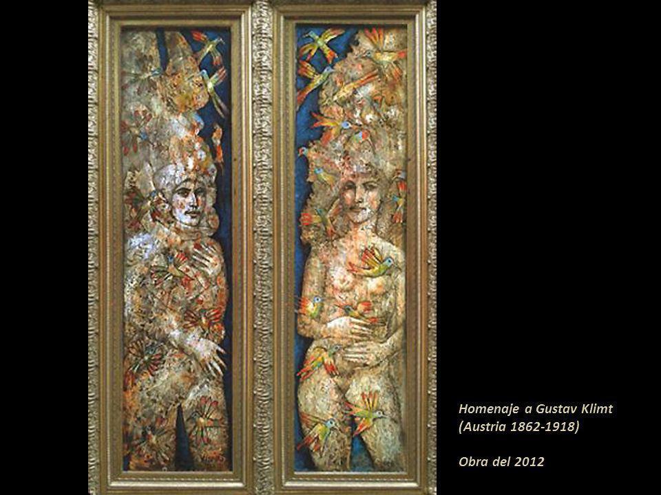 Homenaje a Gustav Klimt (Austria 1862-1918) Obra del 2012