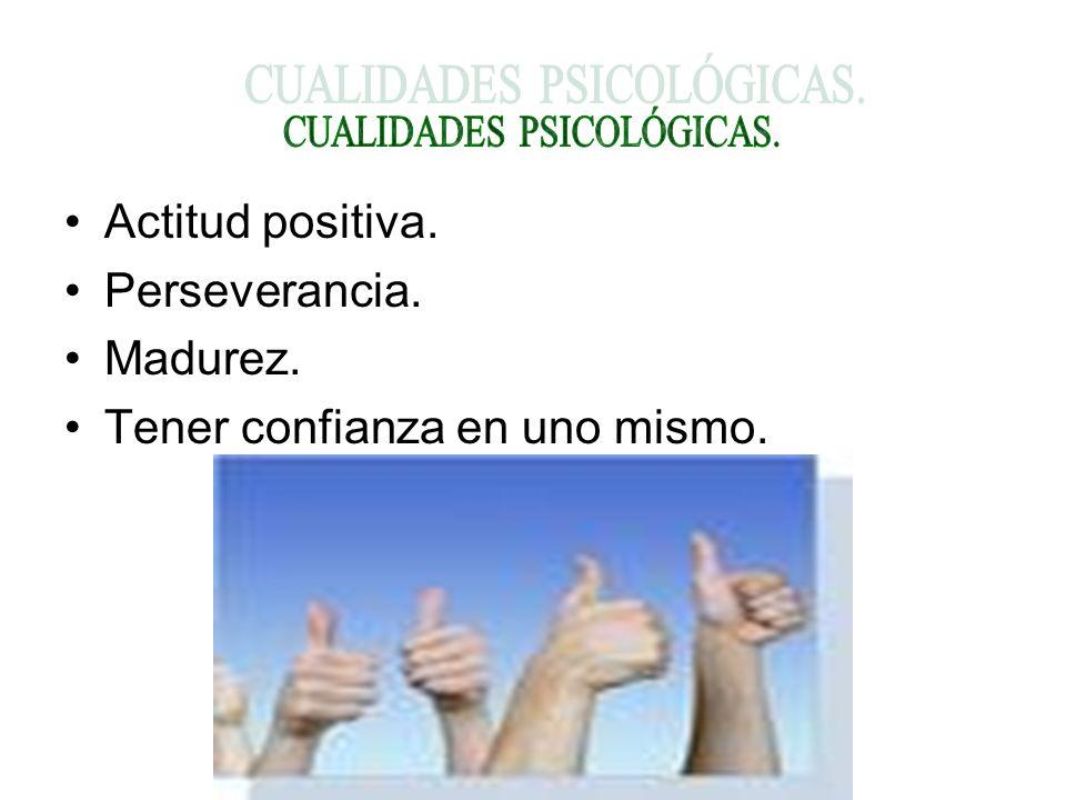 CUALIDADES PSICOLÓGICAS.