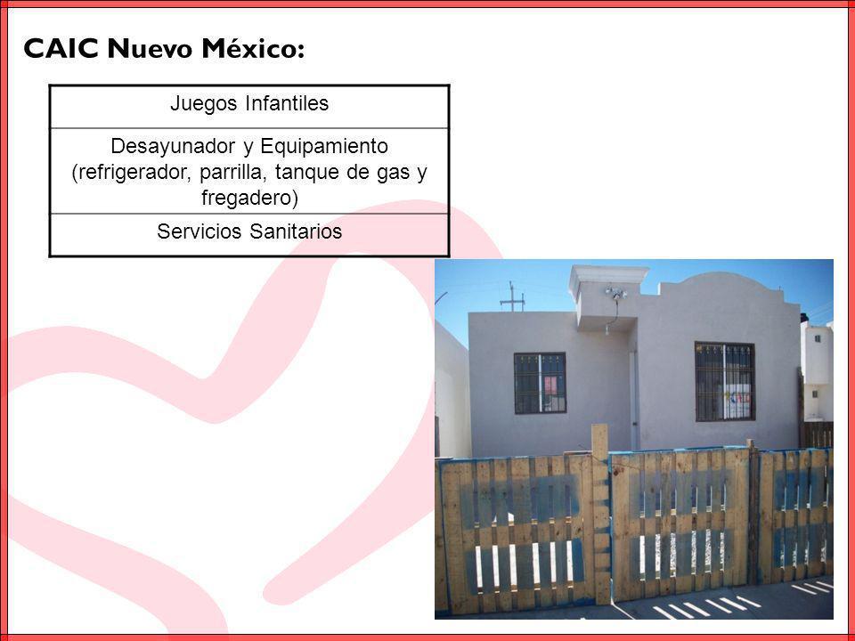 CAIC Nuevo México: Juegos Infantiles