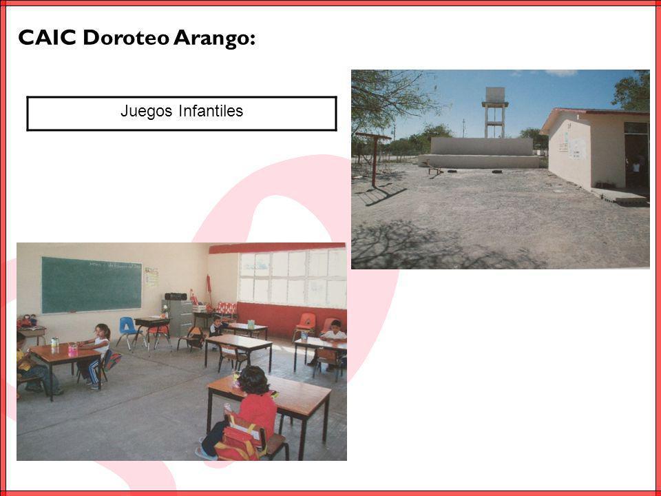 CAIC Doroteo Arango: Juegos Infantiles