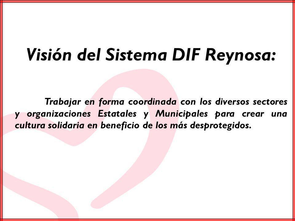 Visión del Sistema DIF Reynosa: