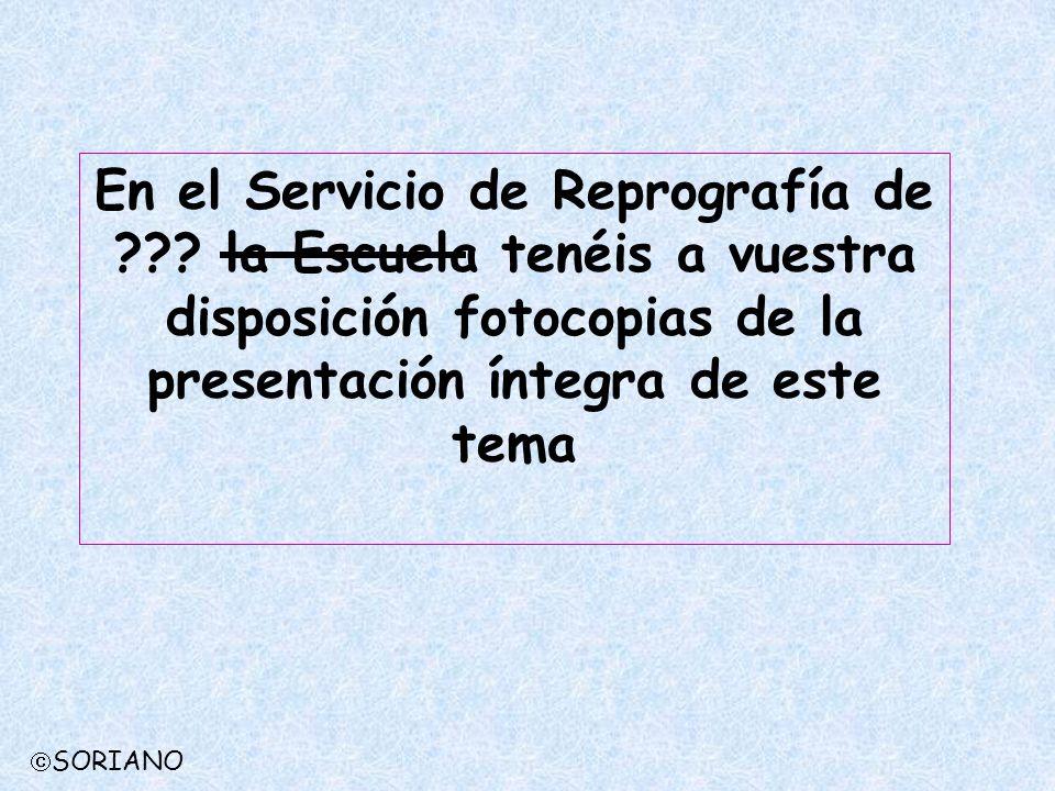 En el Servicio de Reprografía de