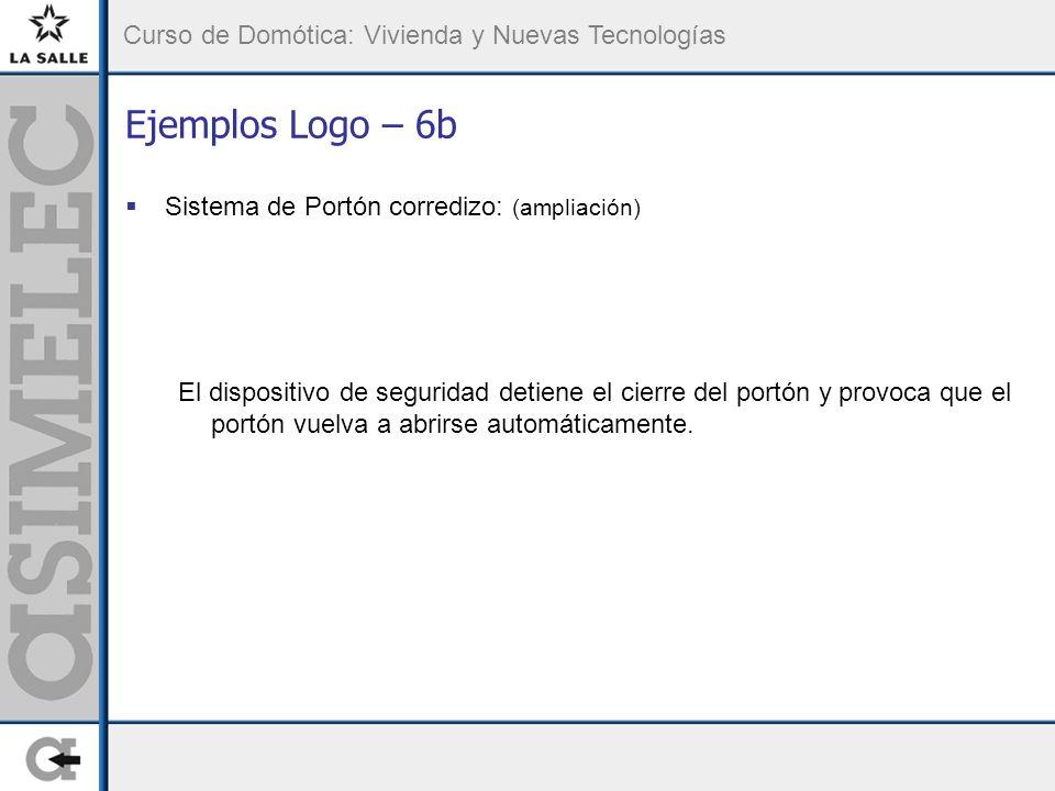 Ejemplos Logo – 6b Sistema de Portón corredizo: (ampliación)