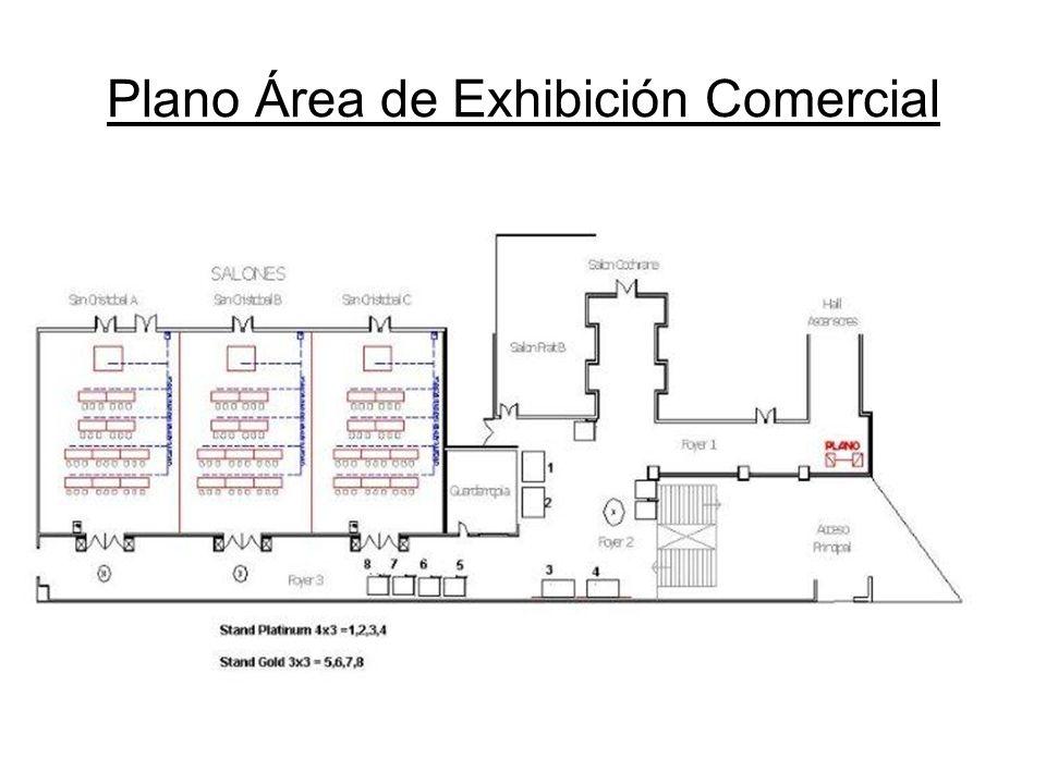 Plano Área de Exhibición Comercial