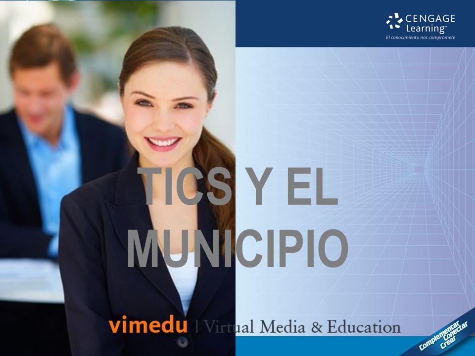 TICS Y EL MUNICIPIO Portada del proyecto.