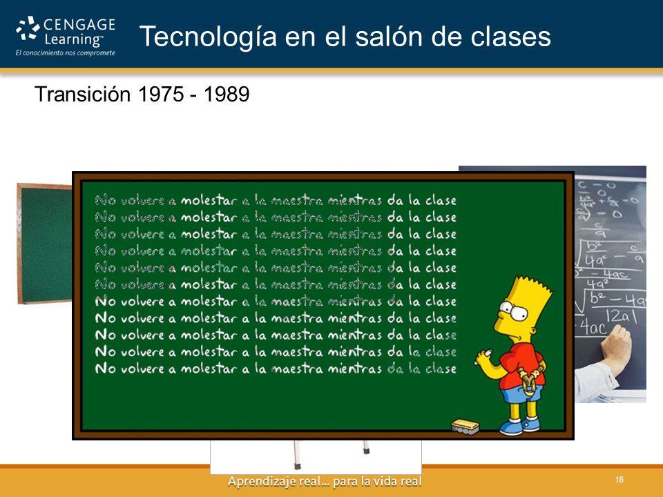 Tecnología en el salón de clases