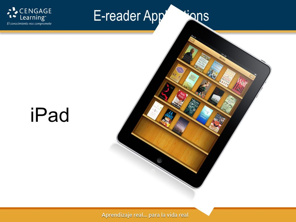 E-reader Applications