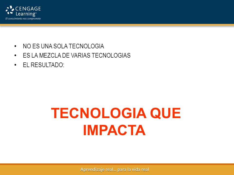 TECNOLOGIA QUE IMPACTA